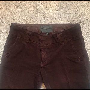 Sanctuary brown pants size 24
